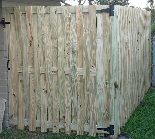 My Back Yard Was Almost Fully Fenced When I Bought House But The Fence Wasn T Connected To