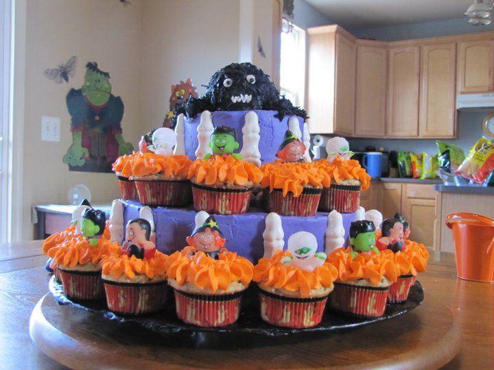 Halloween Birthday Cake Baby Halloween Party Birthday Halloween Party Halloween Birthday Cakes