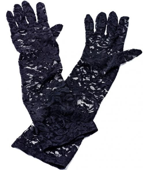 wanted - Long Lace Gloves