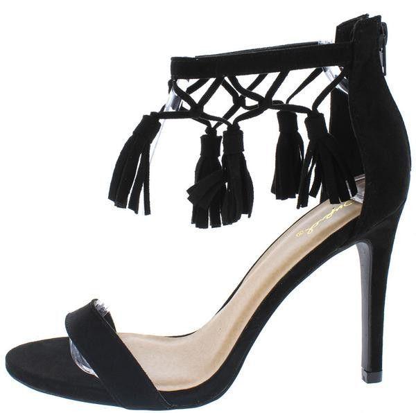 Knot Tassel Sandals