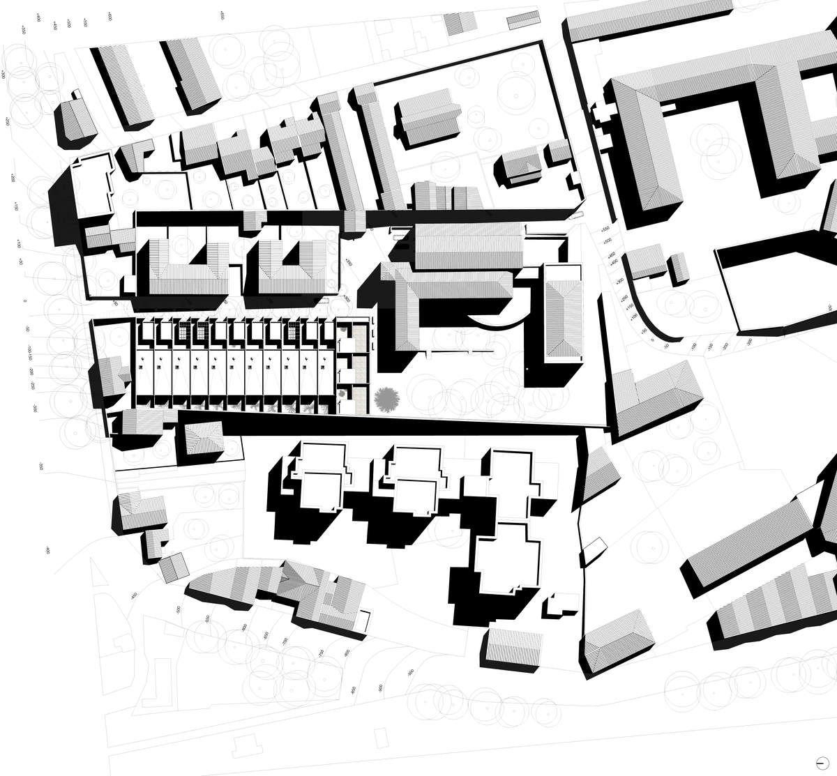 Voir cette épingle et dautres images dans architecture par eliseretiere plan de masse plus
