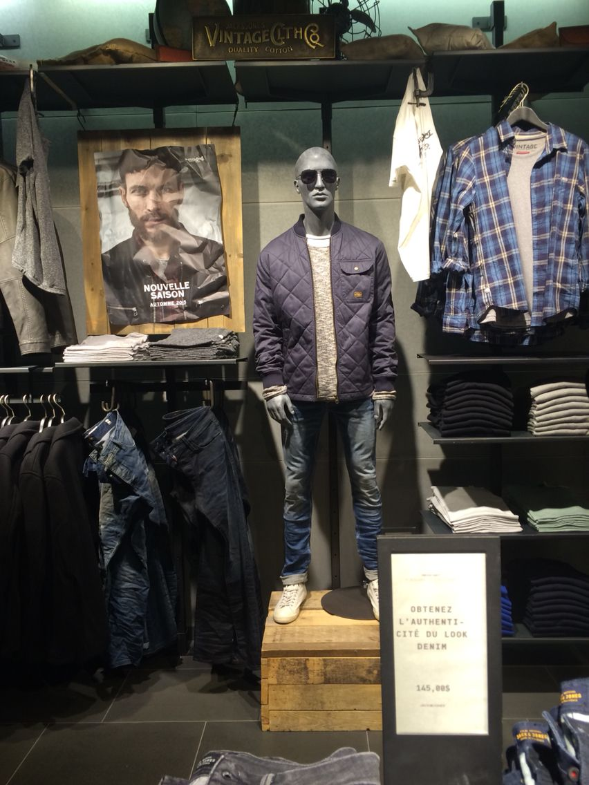 d1c0bd24f6a Jack and jones in-store visual merchandising