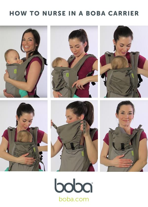Our Quick Tutorial On How To Nurse In A Baby Carrier Boba Click