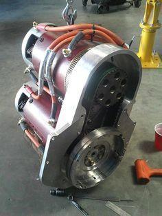 Warp 9 Dc Motors Drive The Sri Ev1 E Racer Hollinquest