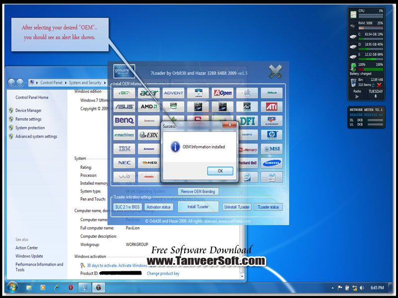 windows 7 activation free download full version