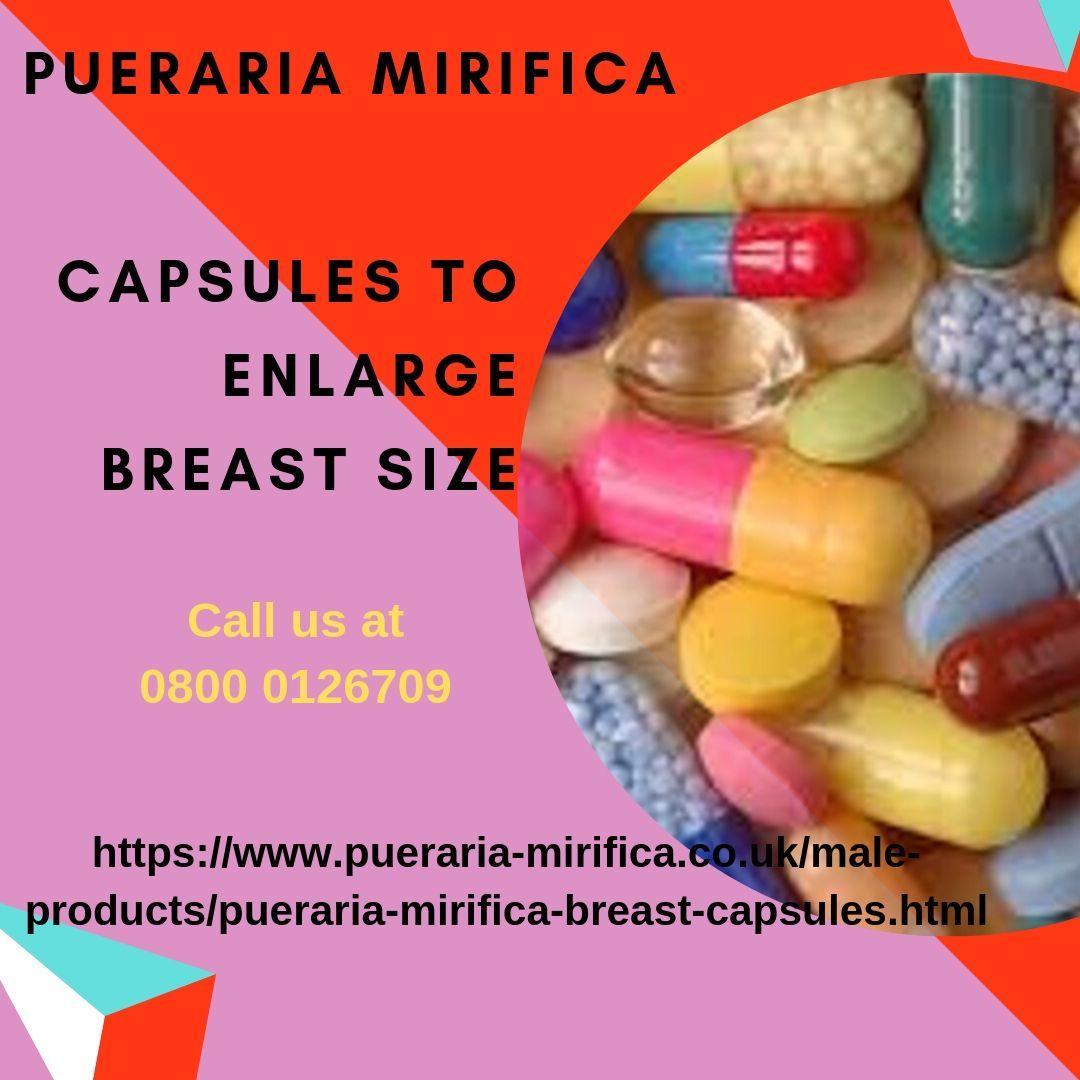 Pueraria Women Breast Enlargement