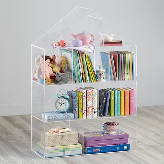 Publisher S Clear House Bookcase Acrylic Bookcase Kids Bookcase