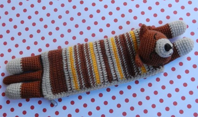 daxa rabalea: cartuchera gatito | crochet/amigurumi/macramé ...