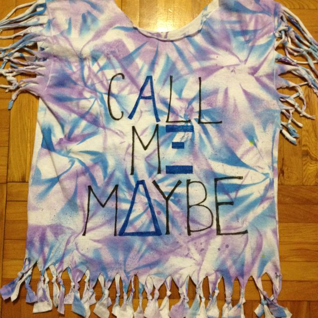 Tie Dye Shirt with AXiD!!!