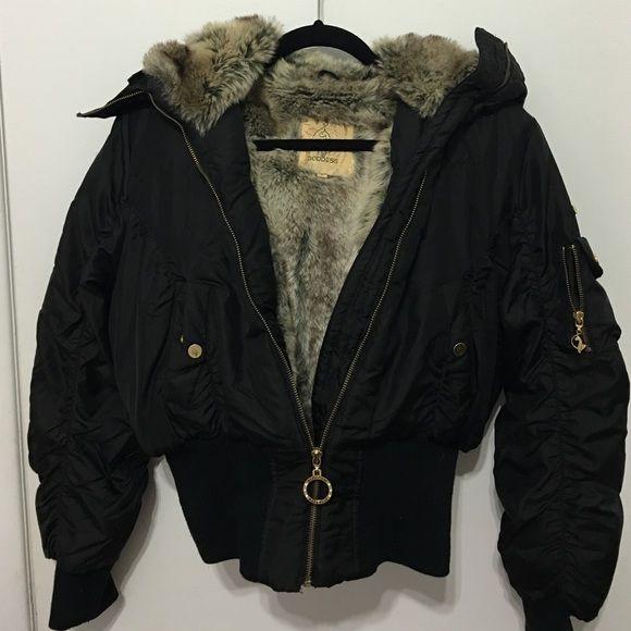 c3b76c493579 Jacket Baby Phat Goddess heavy winter bomber jacket. Faux fur inside ...
