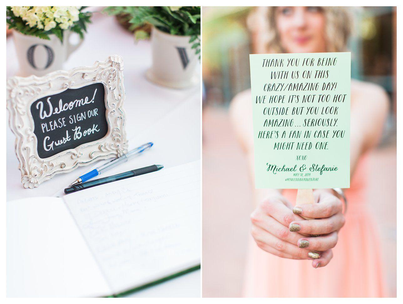 wedding fans Wedding signage fans wedding fans DIY fan fan sign Rachel Solomon