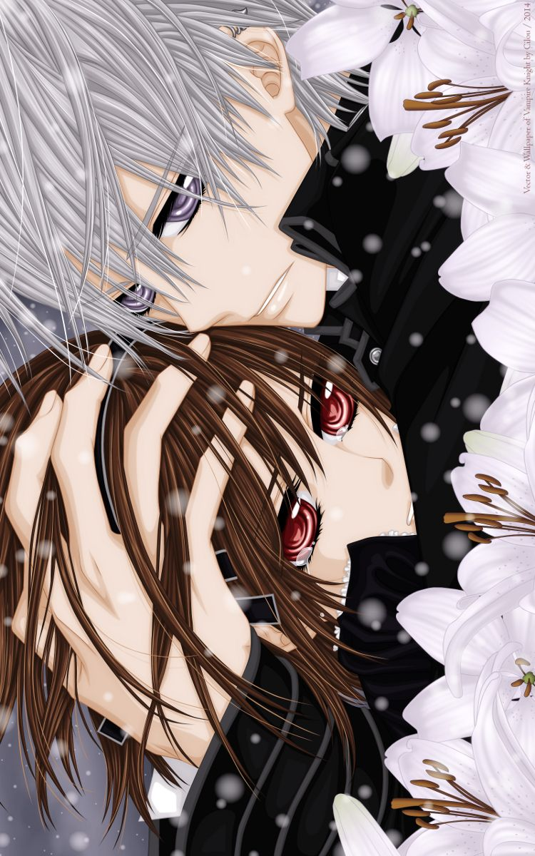 Yuki Cross, Zero Kiryuu vampire knight Pinterest