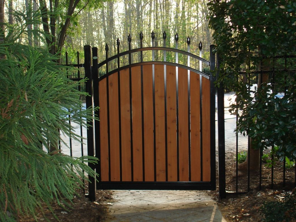 Our cantilever slide gates are manufactured from shs steel section images for modern fence gate design baanklon Choice Image