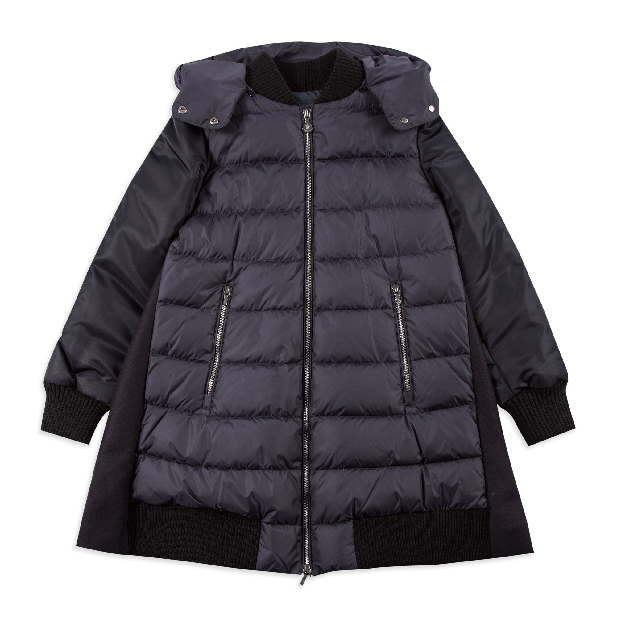 358d28bfb Girls Navy Blois Jacket by Moncler