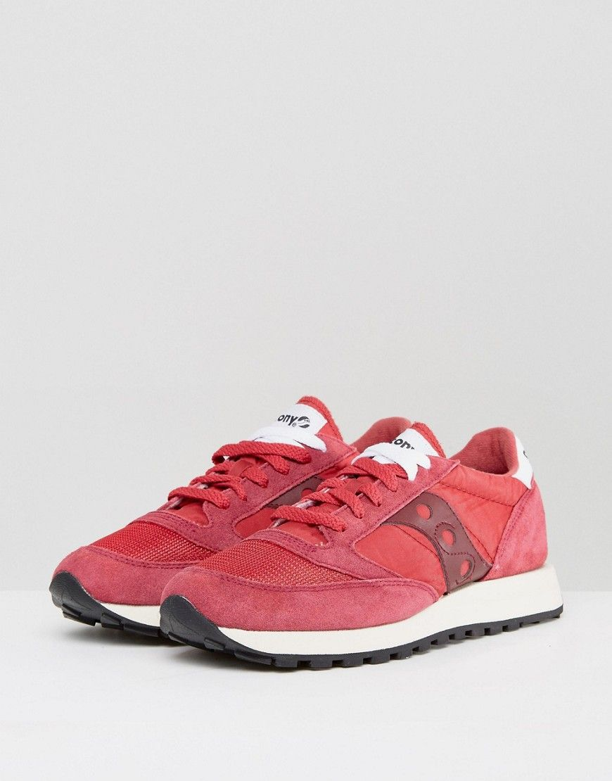 con man fence Parameters  Saucony Jazz Original Vintage Sneakers In Red S70368-6 - Red (With images)  | Vintage sneakers, Sneakers, Saucony