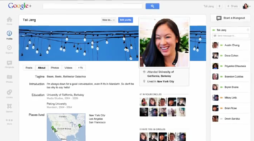 Google+ redesign its user interface Seo digital