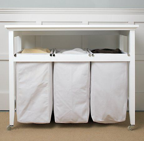 Laundry Hamper Hall Table I Need This