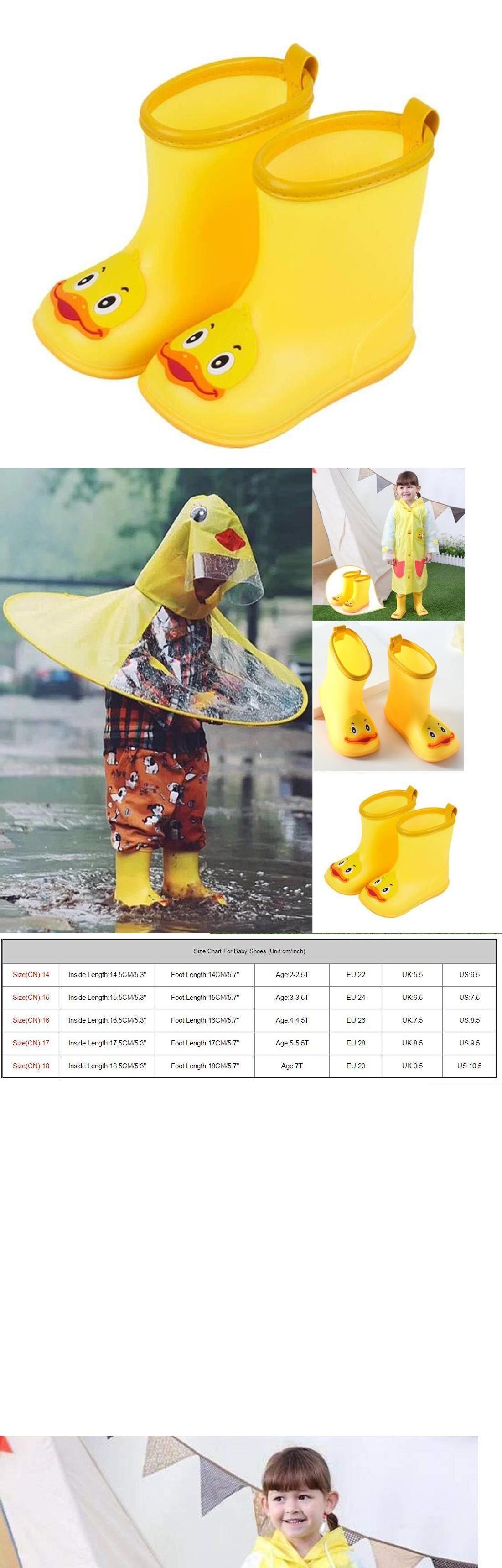 ea5fe7b68b36e Outsta Infant Kids Rain Shoes,Children Cartoon Duck Rubber ...
