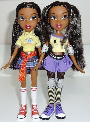 Sasha Bratz Class In Two Outfits Rare Was She A Uk Exculsive American Girl Doll Bratz Doll Halloween Costume Sasha Doll