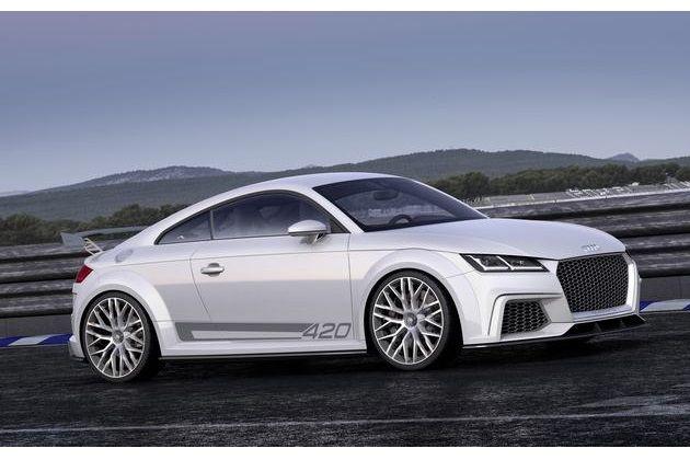 Audi TT Quattro Sport Concept: lekker!