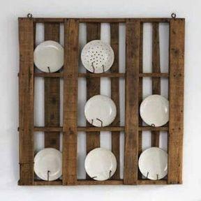 Pallet Plate Rack   DIY - Pallets and Crates   Pinterest   Muebles ...