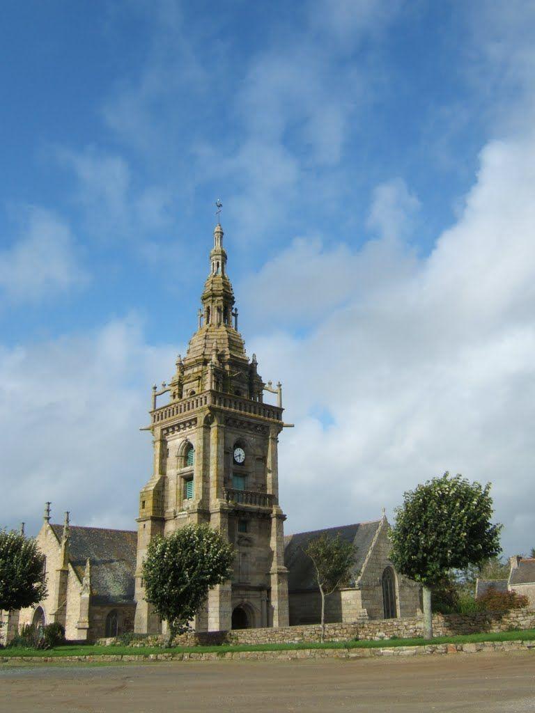l'Eglise de Lampaul. Bretagne