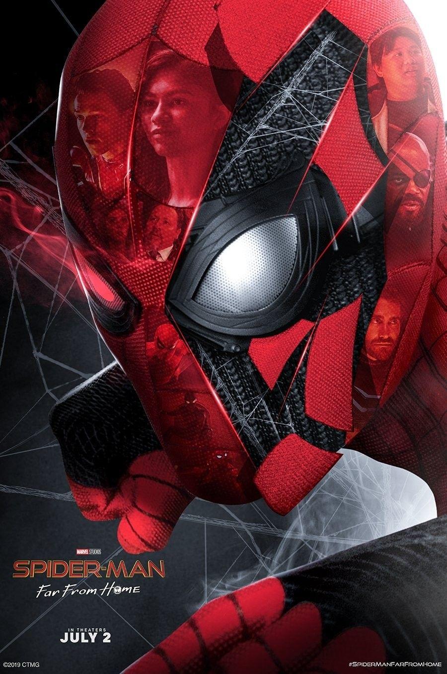 Spider Man Far From Home Art By Bosslogic マーベルヒーロー アベンジャーズ 高画質 壁紙