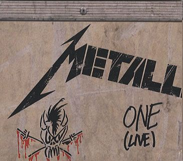 """For Sale - Metallica One - 4-track Maxi Digipak Picture Sleeve Germany  CD single (CD5 / 5"""") - See this and 250,000 other rare & vintage vinyl records, singles, LPs & CDs at http://eil.com"""