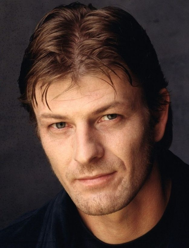 The wet middle part | The Confusing Evolution Of Sean Bean's Hair