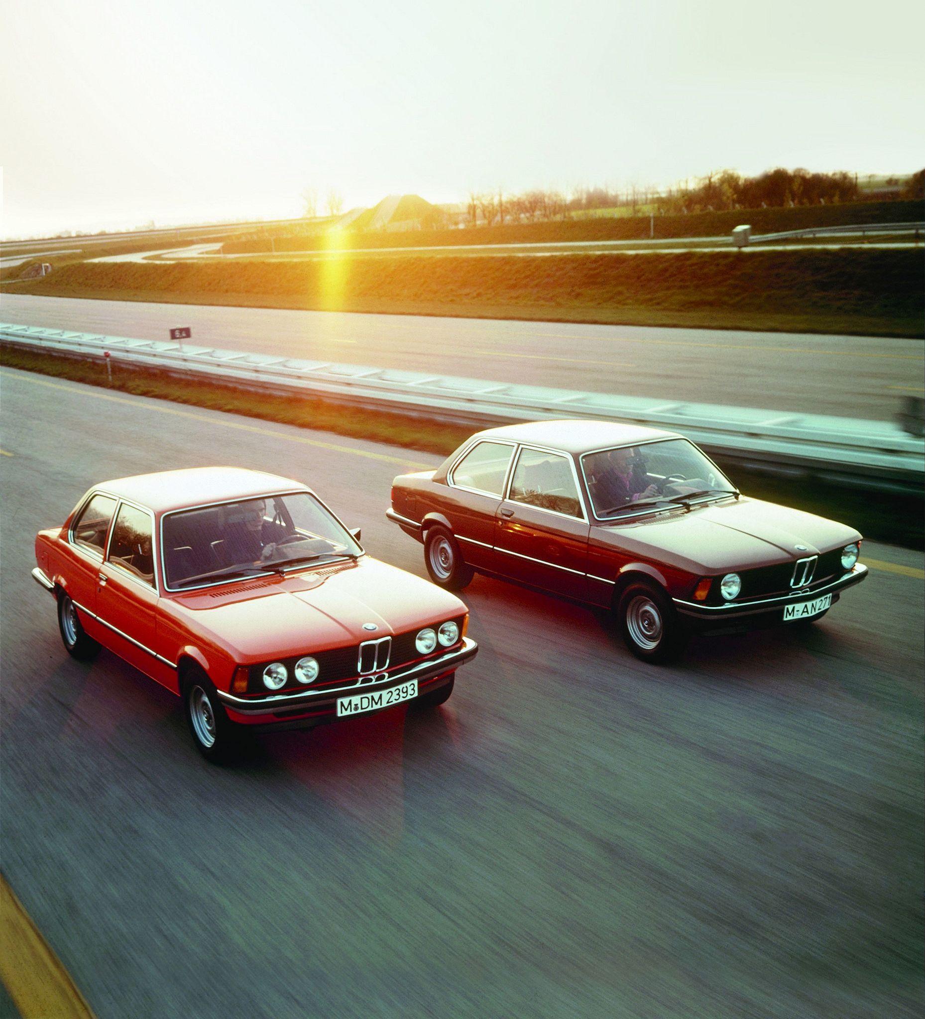 Bmw 320: 1975 BMW 320 & BMW 316 (E21)