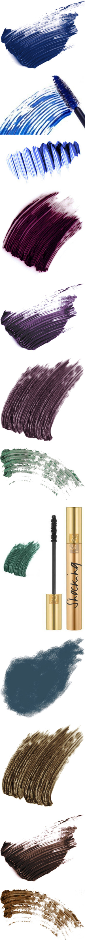"""""""Colorful Mascara"""" by polyvore-editorial ❤ liked on Polyvore"""