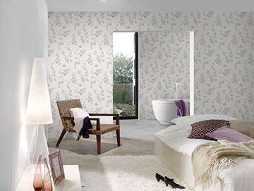 Design Behangpapier Slaapkamer : Bloemen behang in slaapkamer scandinavisch behang