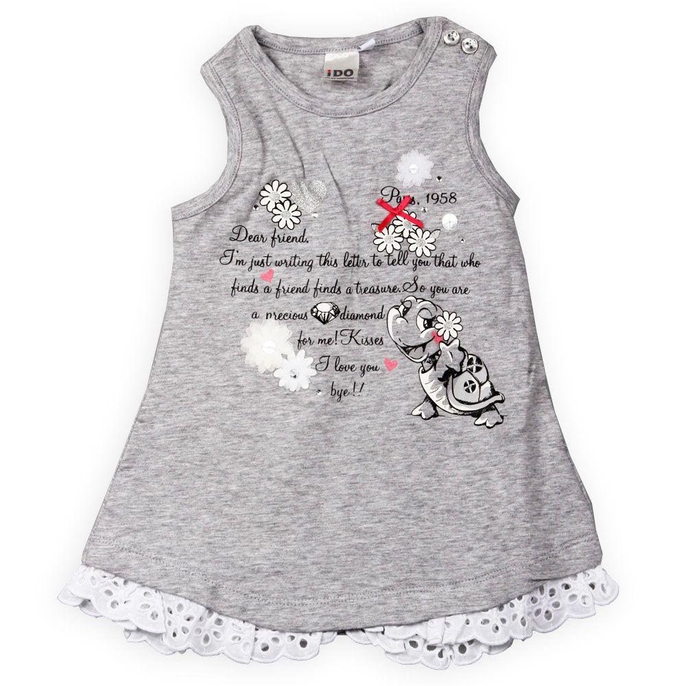 Babyfashion girls dress | iDO |  www.kienk.nl