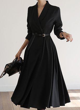 Photo of Black Friday Dresses Elegant Neutral Long Sleeve Midi 1955473133