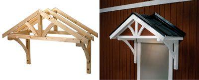 Attraktiva tak över ytterdörr | Idéer för hemmet | Hus, Stuga och Entréer FJ-66