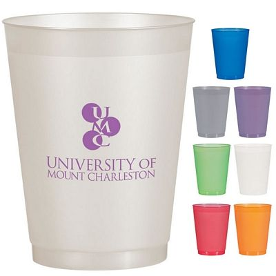 Customized 16 Oz Frost Flex Stadium Cup Promotional 16 Oz Frost Flex Stadium Cup Promotional Plastic Cups Advertising Gifts Stadium Cups Event Advertising