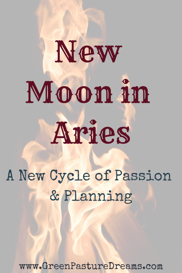 New Moon in Aries #fullmoontarotspread This month's New Moon is in Aries which brings a need to DO and a lot of fire behind it! Learn how to harness this New Moon's energy in this post. New moon aries, aries astrology, aries zodiac, new moon april 5 2019, new moon astrology, new moon ritual, new moon intentions, new moon tarot spread #newmoonritual