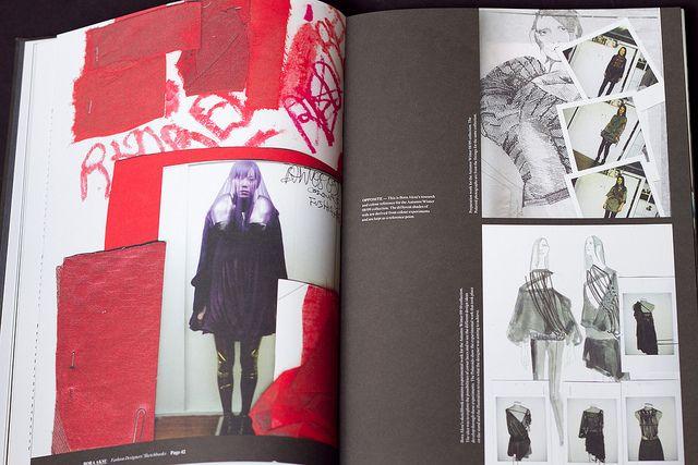 Fashion Designers' Sketchbooks by Parka81, via Flickr