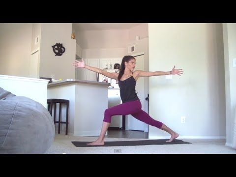 30 minute power yoga practice  crow flow  power yoga