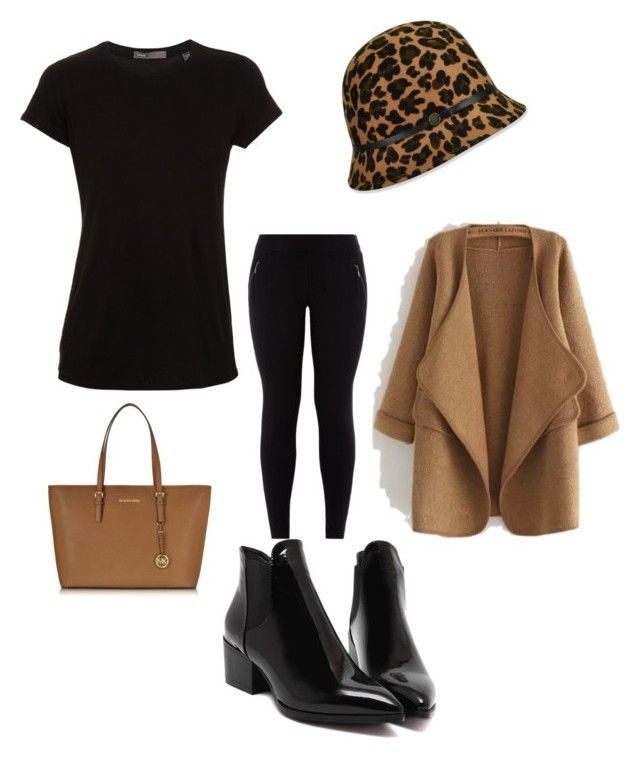 """""""Untitled #330"""" by stylemirror ❤ liked on Polyvore featuring mode, Karen Kane, WithChic, Vince, Michael Kors, women's clothing, women's fashion, women, female et woman"""