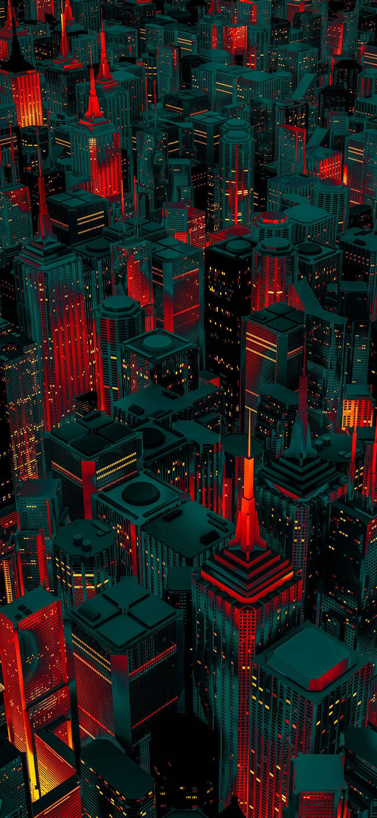 Red City Iphonewallpapers City Wallpaper Samsung Galaxy Wallpaper Samsung Wallpaper