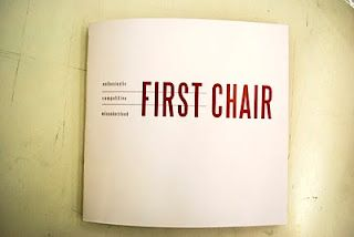 First Chair is Earned. It's a hard won accomplishment earned by the few, not a seat shared so everyone gets a turn. That's what makes it so great.