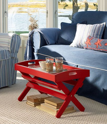 Adirondack Tray Table Outdoor Furniture and Accessories