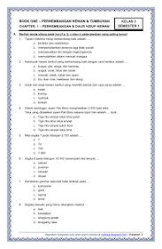 Soal Tematik Kelas 3 Semester 1 Dan Kunci Jawaban