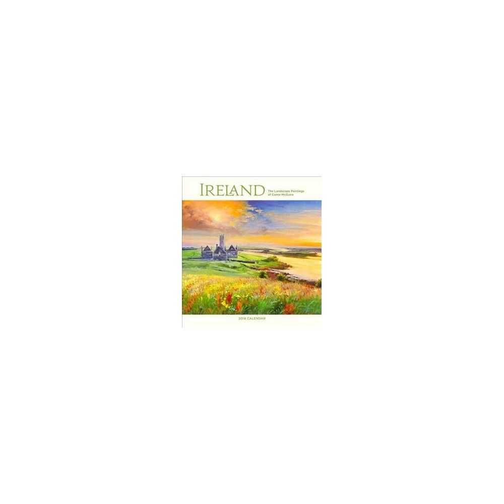 ireland 2018 calendar the landscape paintings of conor mcguire paperback