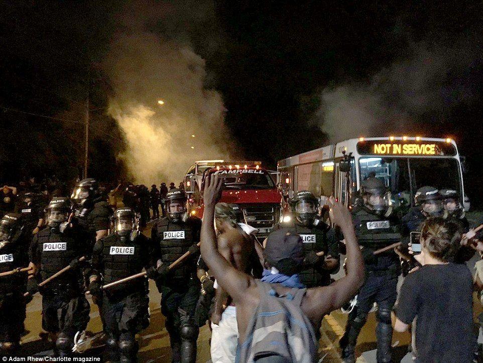 36 2016 Charlotte Burns Ideas Charlotte Protest Cities In North Carolina