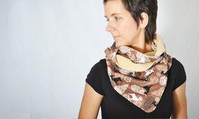 Leni pepunkt: Advent - dveře # 22 - konzultace pro zábal šátek s tlačítkem