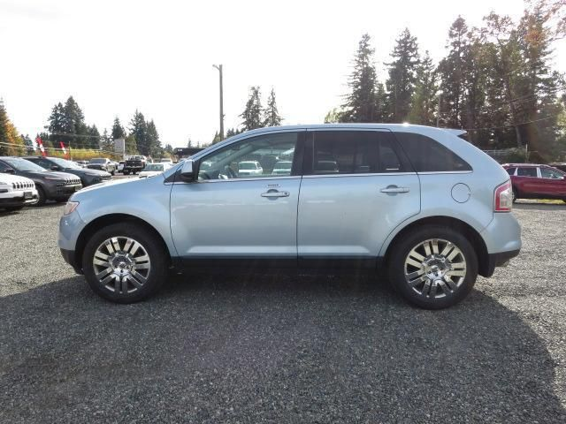 The 2008 Ford Edge Limited Awd Features Power Driver S Seat With