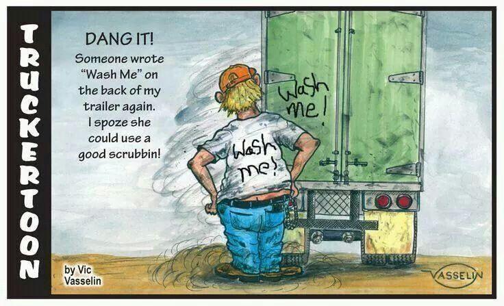 Trucker humor image by Leah on Trucking Humor | Trucker ...
