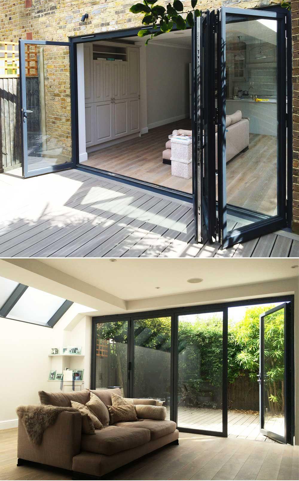 Bi Fold doors London | Bi fold doors, Bi folding doors and Doors